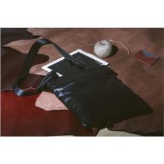 Кожаная сумка через плечо Brialdi Lecco (цвет — черный)