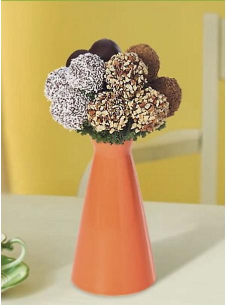Фруктовый мини букет Клубника в шоколаде