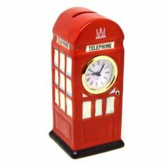 Часы с копилкой Telephone