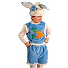 Карнавальный костюм Кролик, 3-7 лет