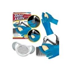 Перчатки для чистки овощей Шкурка Tater Mitts Gloves