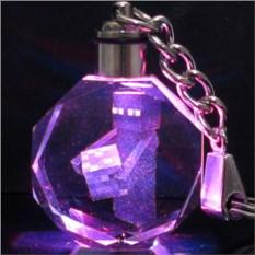 Брелок Майнкрафт Светящийся кристалл - Эндер