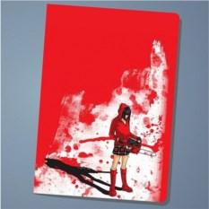 Обложка на паспорт Red saw