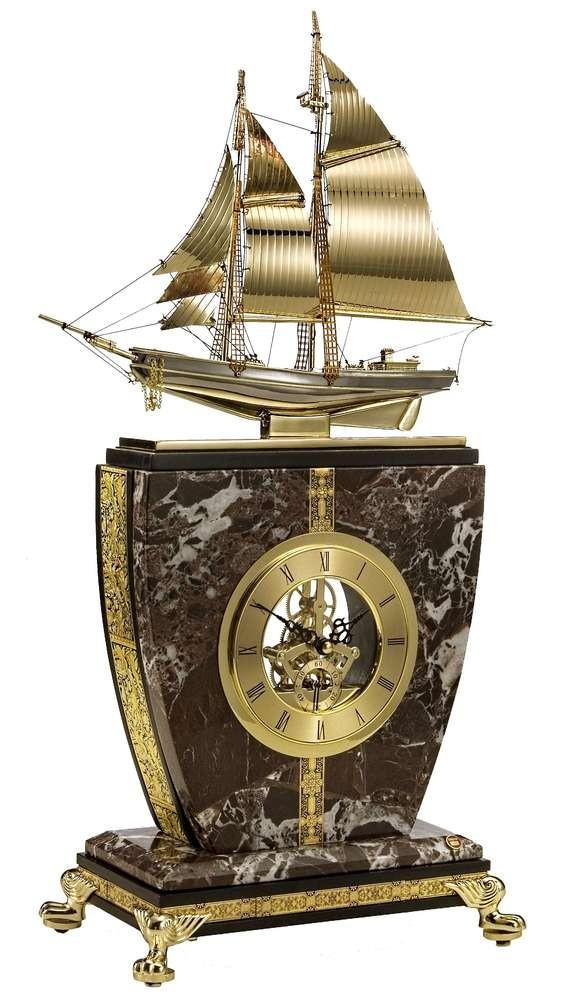 Настольные часы «Золотые паруса»