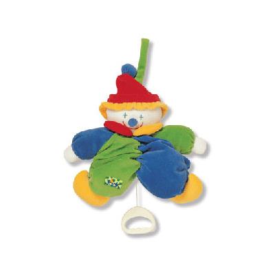 Музыкальная игрушка-клоун