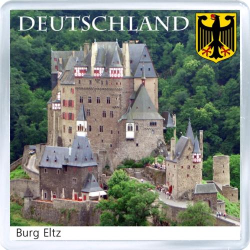 Магнит на холодильник: Германия. Замок Эльц