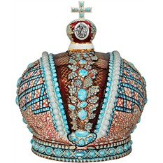 Штоф «Корона Российской Империи»