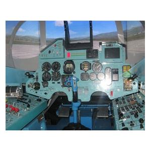 Полёт на авиа-тренажёре СУ-27