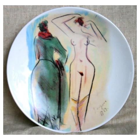 Тарелка «Женские фигуры»