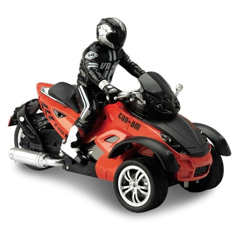 Радиоуправляемый мотоцикл Yuan Di Трицикл 1:10 - YD898-T53