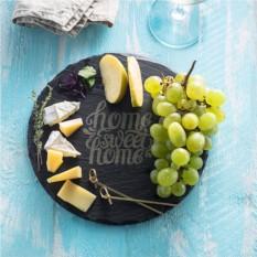 Блюдо для сыра из натурального сланца