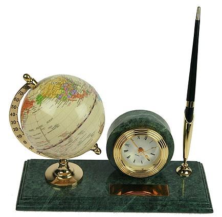 Настольный письменный набор Глобус