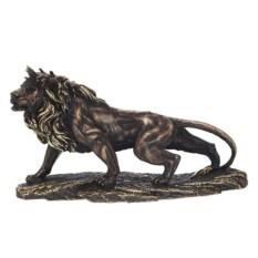 Декоративная фигурка Лев (цвет - золото)