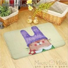 Антискользящий коврик Забавный Кролик