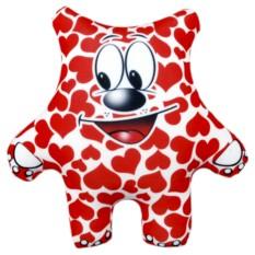 Подушка-игрушка Мишка весь в любви