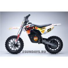 Детский электромотоцикл HOOK DIRT RED 24V