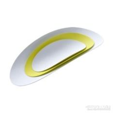 Набор из 3-х стальных блюд Ellipse (цвет: желтый&белый)