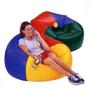 Надувное кресло Beanless Bag