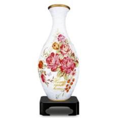 Фигурный пазл-ваза 3D Английская роза