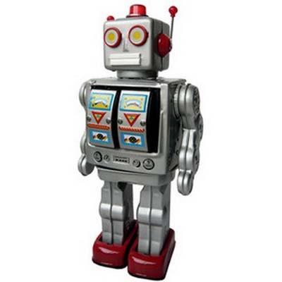 Игрушка -робот Электрон Серыйй