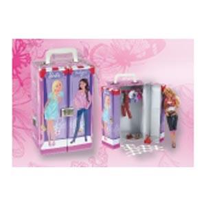 Гардероб для кукольной одежды Barbie