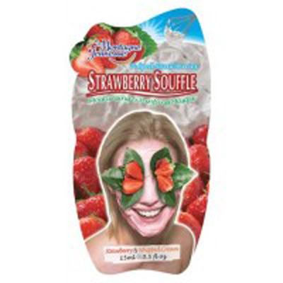 Увлажнаяющая и очищающая маска «Клубничное суфле»