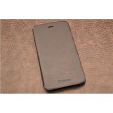 Чехол для iPhone 6 Plus «Ночной Бергамо» (черный, личи)