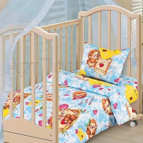 Комплект постельного белья Милашки  (ясельный)
