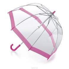 Розовый детский зонт Fulton