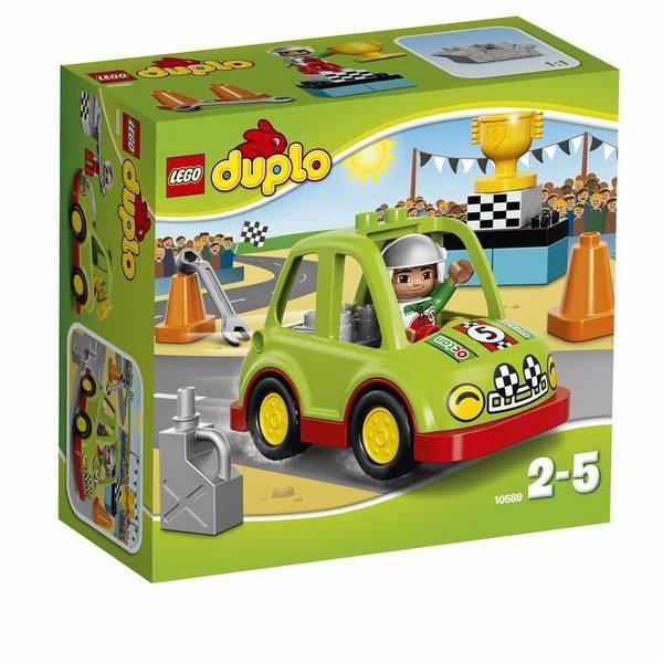 Конструктор LEGO DUPLO Гоночный автомобиль
