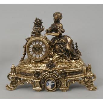 Часы-фигура из бронзы Virtus «Дама»