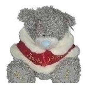 Мишка в красной накидке SPECIAL FRIEND
