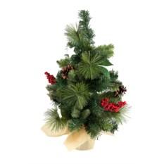 Декоративная настольная елка Рождественское чудо (50 см)