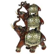 Декоративная фигурка Три слона