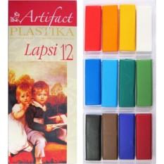 Набор пластики 12 цветов