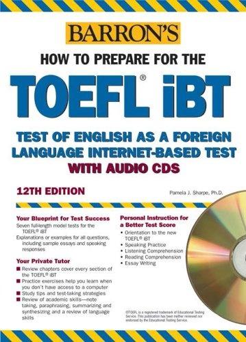 Подготовка к TOEFL Book+Audio CD