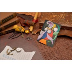 Кожаная обложка для документов Пикассо