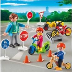Конструктор Playmobil City Life Дети с воспитателем по ПДД