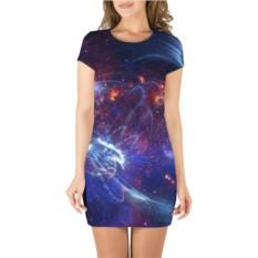 Платье 3D Космос