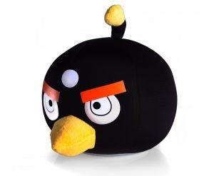Игрушка-Антистресс Angry Birds Черная птичка 20 см