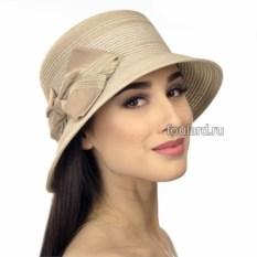 Пляжная коричневая шляпа от Del Mare