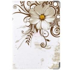 Обложка на права Цветы белые