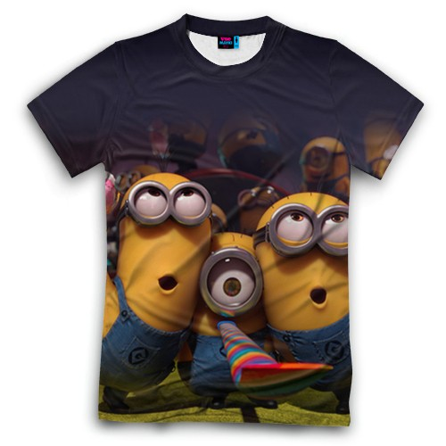 Мужская футболка 3D с полной запечаткой Вечеринка