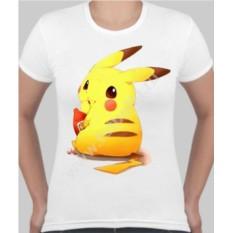 Женская футболка Пикачу