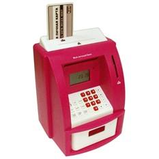 клектронная Копилка-банкомат «Мой личный банк», красная