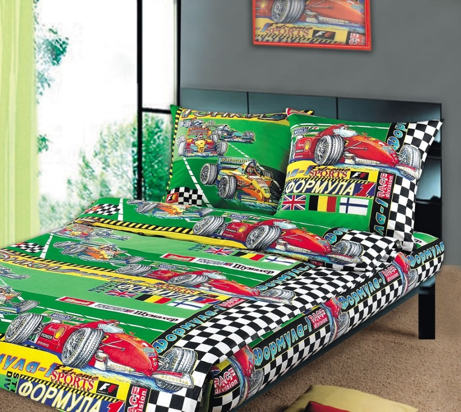 Комплект детского постельного белья Формула (1,5 спальный)