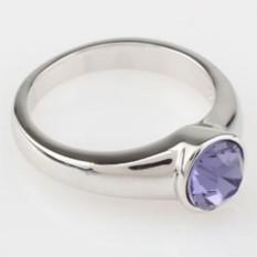 Кольцо с кристаллами Swarovski Albina