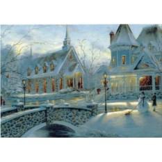 Открытка Зимний пейзаж