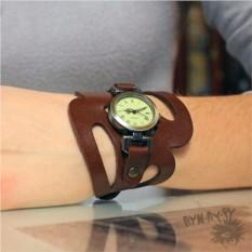 Женские часы с прорезями