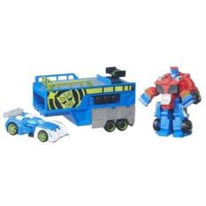 Игровой набор Трансформеры-спасатели: гоночный комплект